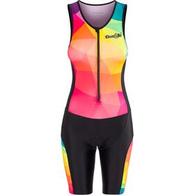 Dare2Tri Limited Funky Mouwloos Trisuit Dames, black